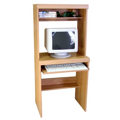 "Rush Furniture Charles Harris 32"" W Computer Desk with Hutch"