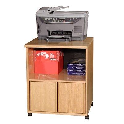 Rush Furniture Modular Real Oak Wood Veneer Furniture Printer Stand