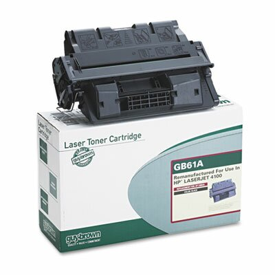 Guy Brown Products GB61A (C8061A) Laser Cartridge, Standard-Yield, 6000 Page-Yield, Black