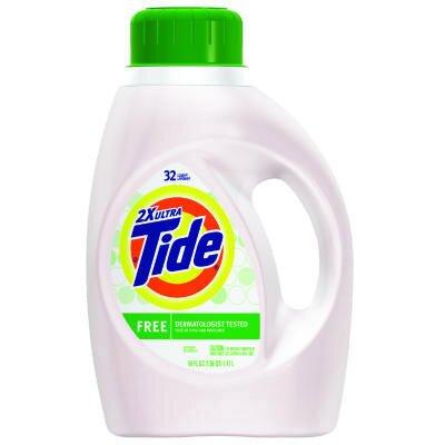 Tide® 4.7 Quart Pump Dispenser Ultra Liquid Laundry Detergent