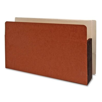 Kleer-Fax, Inc. Shelf File,w/ Side Tab, Redrope