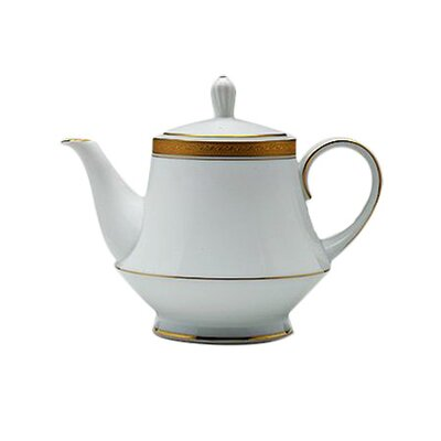 Noritake Crestwood Gold 1.19-qt. Teapot