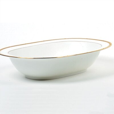 Noritake Rochelle Gold Oval Vegetable Bowl