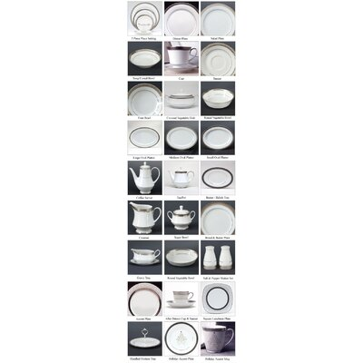 Noritake Crestwood Platinum Dinnerware Collection