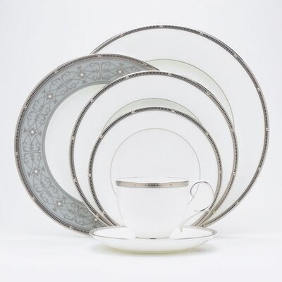 Rochelle Platinum Dinnerware Collection by Noritake
