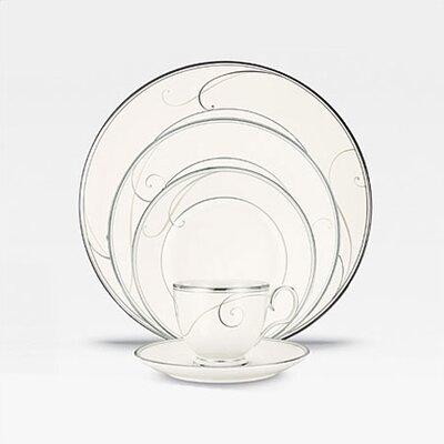 Platinum Wave Dinnerware Collection by Noritake