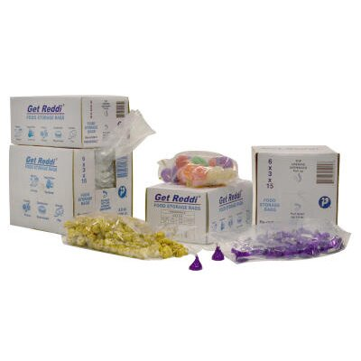 Inteplast Group 3.5 Quart Get Reddi Food and Poly Bag, 0.68 Mil in Clear