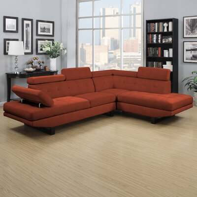 Fontaine Right Hand Facing Sectional by Handy Living