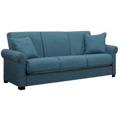 Handy Living Rio Full Convertible Upholstered Sleeper Sofa & Reviews