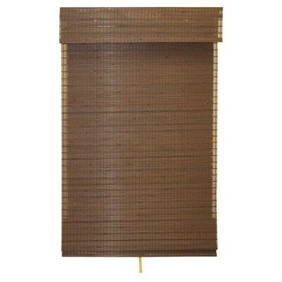 Eco-Friendly Cordless Woven Bamboo Roman Shade Product Photo
