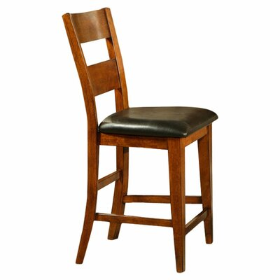 "Steve Silver Furniture Mango 24"" Bar Stool with Cushion"