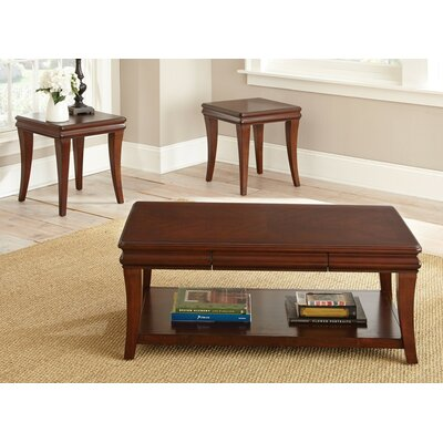 Steve Silver Furniture Aubrey 3 Piece Coffee Table Set Reviews Wayfair