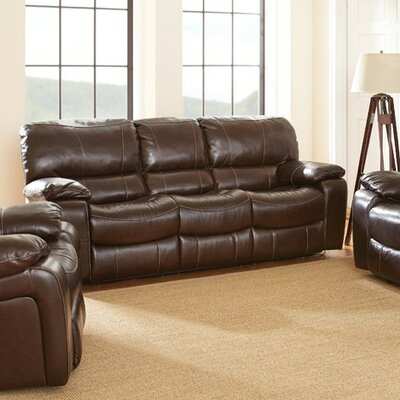 Brenton Double Reclining Sofa by Steve Silver Furniture