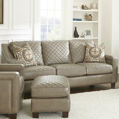 Wellington Leather Sofa by Steve Silver Furniture