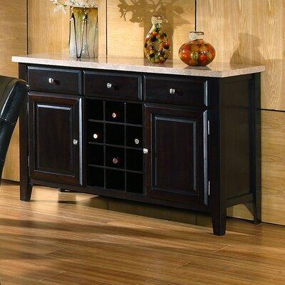 Steve Silver Furniture Monarch Wine Rack and Server