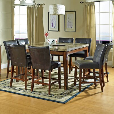Steve Silver Furniture Montibello 9 Piece Dining Set Reviews Wayfair