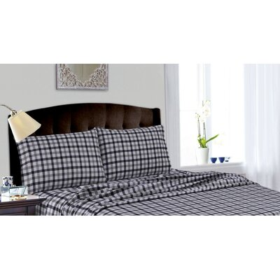 Cotton Deep Pocket Flannel Sheet Set by Tribeca Living