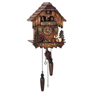 Quartz Cuckoo Wall Clock by Schneider