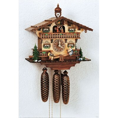 Musical Chalet Wall Clock by Schneider