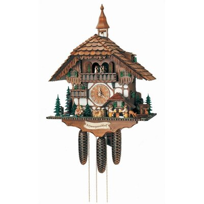 Forest Chalet Wall Clock by Schneider