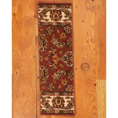 Sydney Terracotta Classic Persian Stair Tread by Natural Area Rugs