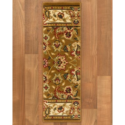 Enzo Classic Persian Stair Tread by Natural Area Rugs