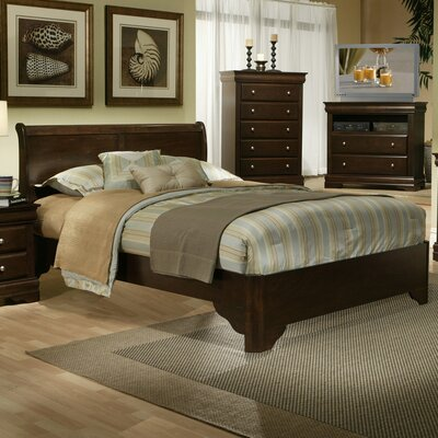 Chesapeake Sleigh Bed by Alpine Furniture