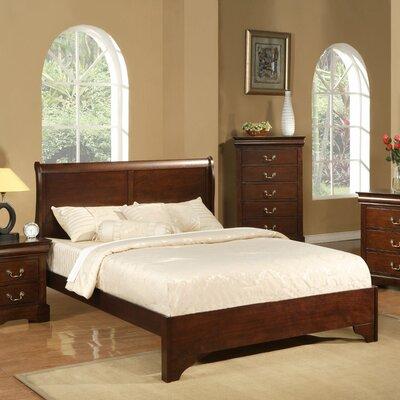 West Haven Sleigh Bed by Alpine Furniture