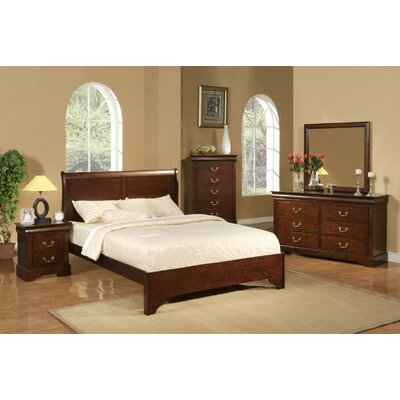 West Haven Sleigh Customizable Bedroom Set by Alpine Furniture