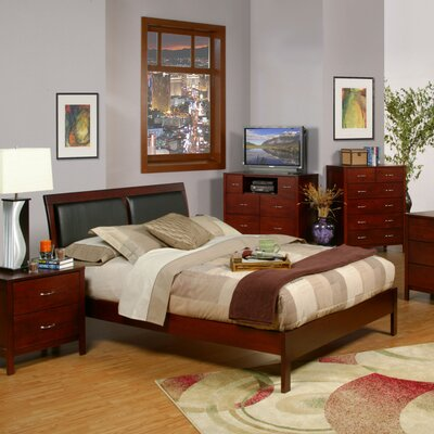 Newport Platform Bed by Alpine Furniture