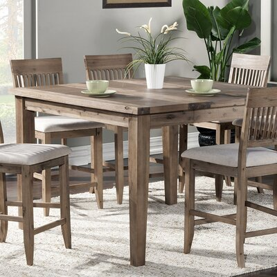 Casco Extension Butterfly Leaf Pub Table by Beachcrest Home