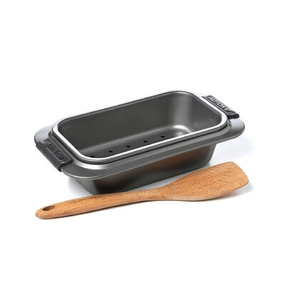 Nonstick Meatloaf Pan With Insert Makes Cleanup A Breeze