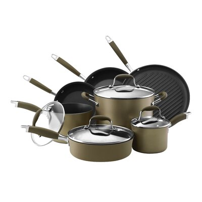 Advanced Nonstick 11 Piece Cookware Set by Anolon