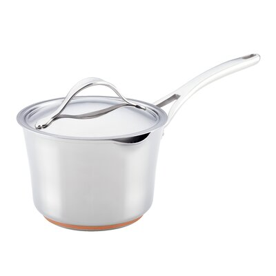 Nouvelle Copper Stainless Steel 3.5-qt. Saucepan with Lid by Anolon