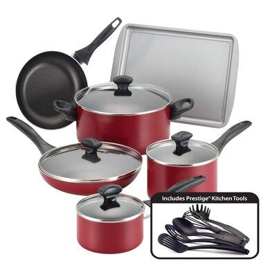 Nonstick 15 Piece Cookware Set by Farberware
