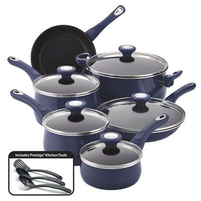 New Traditions 14 Piece Cookware Set by Farberware