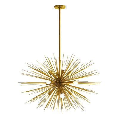 Zanadoo Gold 12 Light Chandelier Product Photo