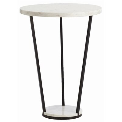 Petra Marble / Iron Side Table by ARTERIORS Home