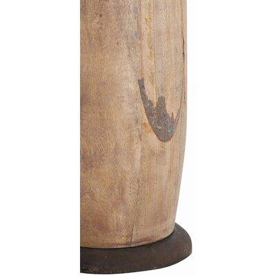 Arteriors Home Trump Wood Rustic Iron Floor Lamp Amp Reviews Wayfair