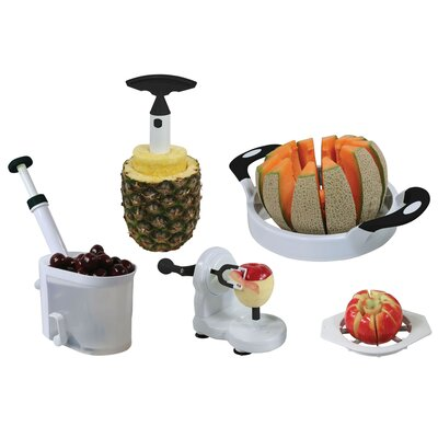 Buffalo Tools AmeriHome 5 Piece Fruit and Vegetable Prep Set