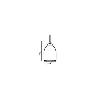 Oggetti Bimbi 1 Light Low Voltage Pendant