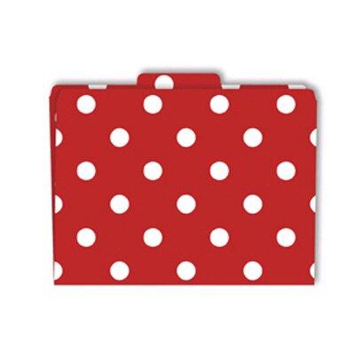 Barker Creek & Lasting Lessons File Folder in Red & White
