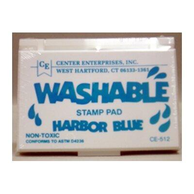 Center Enterprises Inc Stamp Pad Washable Harbor