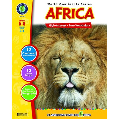 Classroom Complete Press World Continents Series Africa Book