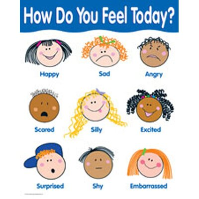 Creative Teaching Press How Do You Feel Chart
