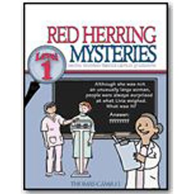 Critical Thinking Press Red Herring Mysteries Level 1 Book