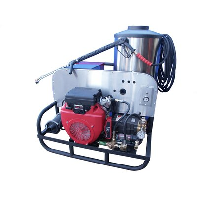 CB Series 4000 PSI Gas Pressure Washer with 24 HP Honda Engine by Cam Spray ...