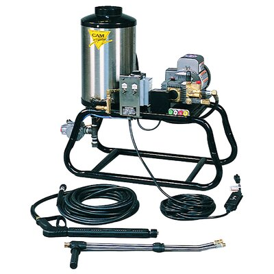 ST Series 1500 PSI Hot Water Natural Gas Pressure Washer by Cam Spray