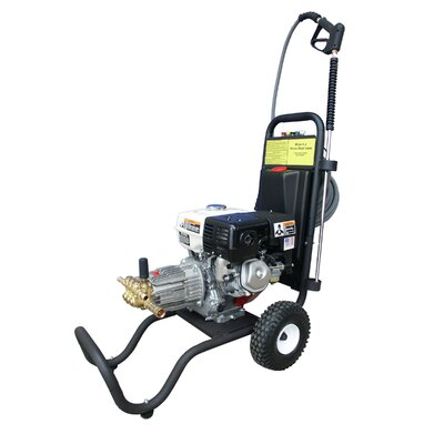 3000 PSI Cold Water Gas Pressure Washer with 9 HP Honda Engine by Cam Spray ...