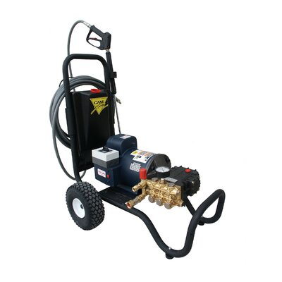 2000 PSI Cold Water Electric Tube Cart Pressure Washer by Cam Spray